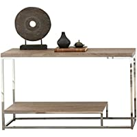 Steve Silver Company Lucia Sofa Table, 47' x 16' x 29', Brown