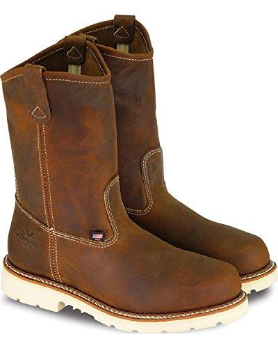 Thorogood Heren 11 Amerikaanse Afkomst Maxwear 90 Wellington Werkschoen Staal Bruin 8.5 Ee