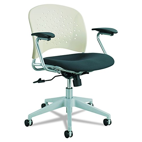 Safco Products 6803LT Reve Task Chair with Round Back, Latte