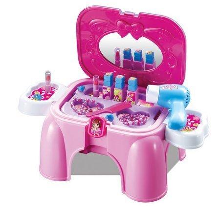 Schminktisch Fur Kinder Beauty Salon In Einem Stabilen Hocker