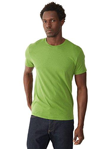Alternative Men's Organic Crew, Earth Green, X-Large