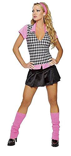 [Preppy School Girl Outfit Sexy Halloween Costume Womens U.S. Small/Medium] (Preppy School Girl Costumes)