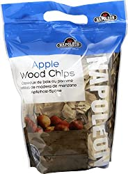Napoleon Applewood Smoking Chips Smoker Accessory – 67007 – Hardwood, Mild and Sweet Flavoured Smoke, Best for