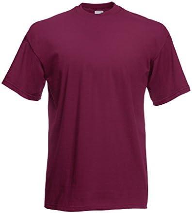 Fruit Of The Loom Value T T-shirt, rozmiary S M L XL XXL, czerwony, M: Odzież