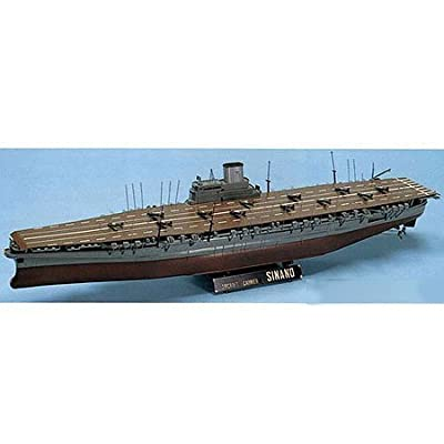 1/250 Aircraft carrier Shinano (Plastic model) by Doyusha