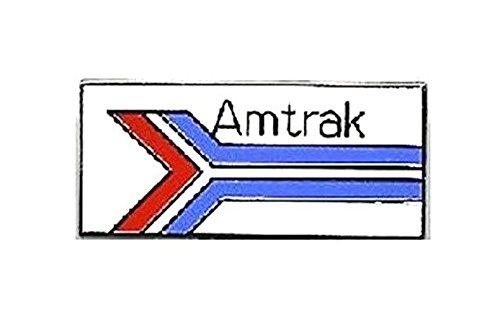 (AMTRAK Railroad Lapel Pin Hat Tie Tac Brass KOR)