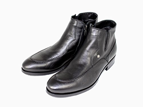 Shoe Stiefelette 50003 gefüttert warm Schuhe Herrens Ilari Boots Schwarz Luciano AqwxEW