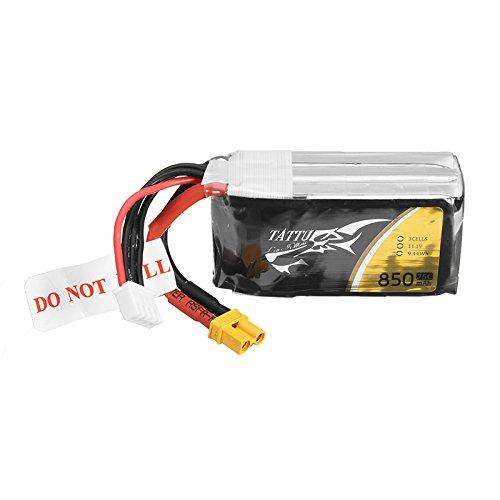MAUBHYA ACE TATTU 11.1V 850mAh 75C 9.44Wh 3S 1P Lipo Battery XT30 Plug by MAUBHYA