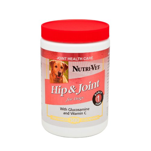 Nutri-Vet Hip & Joint  Chewable Tablets for Dogs, 300 Count