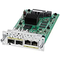 Cisco NIM-2GE-CU-SFP= WAN Network Interface Module - Expansion module - combo Gigabit SFP x 2 - for Cisco 4451-X