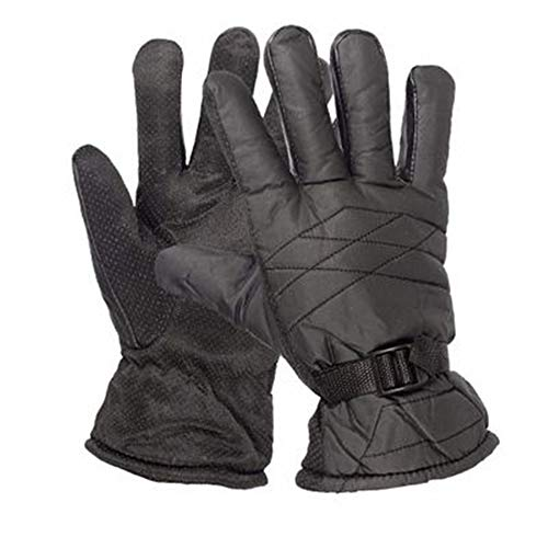 Super explosion Winter Gloves Men Women Touchscreen Windproof Warm Non-Slip Driving Gloves Outdoor Thermal Cycling Skiing Hiking Camping Gloves(Black One Size)