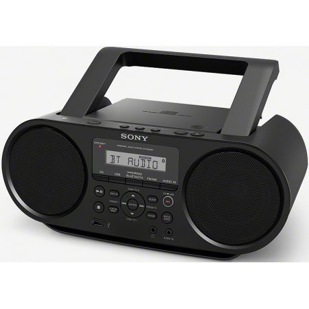 sony portable bluetooth digital tuner am fm radio cd. Black Bedroom Furniture Sets. Home Design Ideas