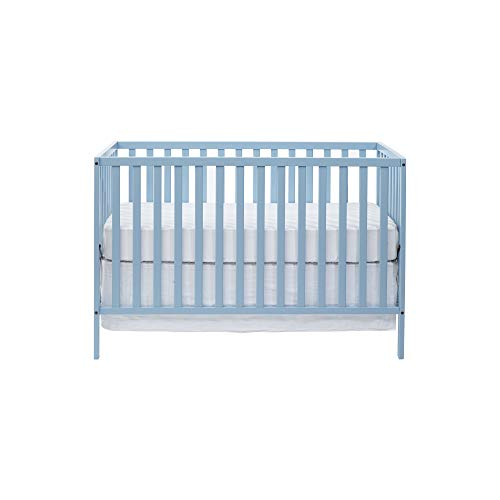 Suite Bebe Palmer 3 in 1 Convertible Crib Baby Blue