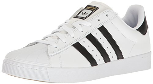 Buy now adidas Originals Men's Shoes | Superstar Vulc Adv, White/Core Black/White,