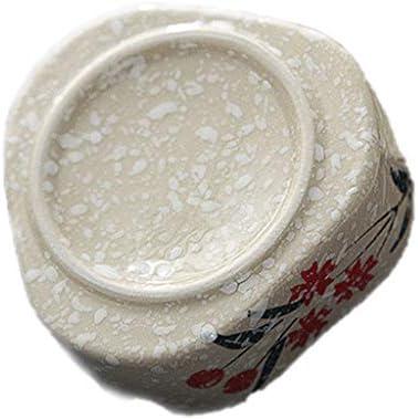 灰皿 , ホテルのオフィスへの贈り物の贈り物のための磁器雪片の灰皿、灰で創造的な人格の陶器の灰皿 (色 : B)