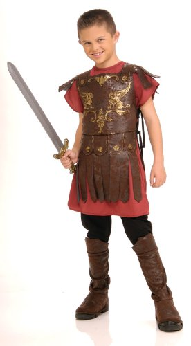 Child's Gladiator Costume, Small (Italian Costume For Kids)