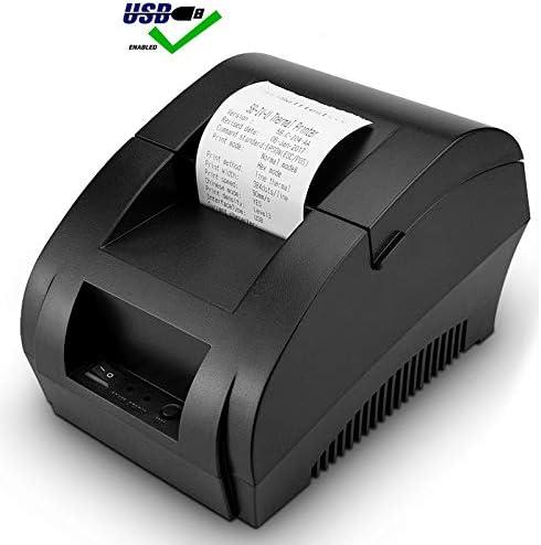 DZSF Impresora térmica de Punto de Venta Mini 58Mm Impresora de recibo de Punto de Venta USB para máquina de verificación de facturas de Tienda de supermercado resaurant: Amazon.es: Deportes y aire