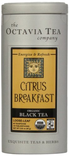 reakfast (Organic Black Tea) Loose Tea, 2.12-Ounce Tin ()