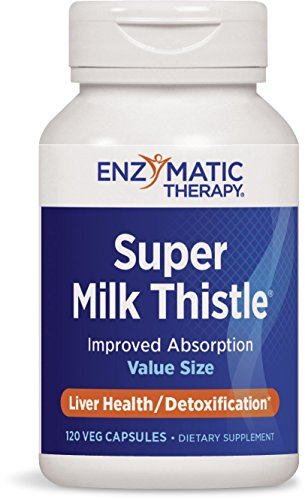 Enzymatic Therapy Super Milk Thistle, 120 Ultra Caps (Chai Tang Wan Xiao Hu)