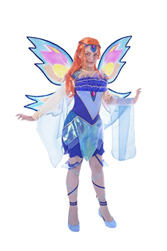 Ciao 11180 - Bloom Bloomix Costume Winx Club 7-9 anni Bloom (Blu, Azzurro) -