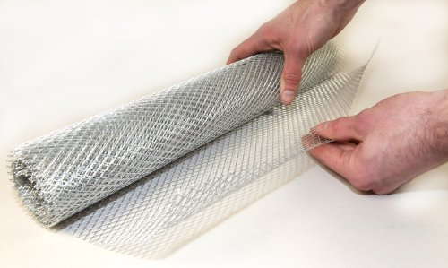 Modelling Mesh Aluminium Wire - Coarse 500mm x 3metres