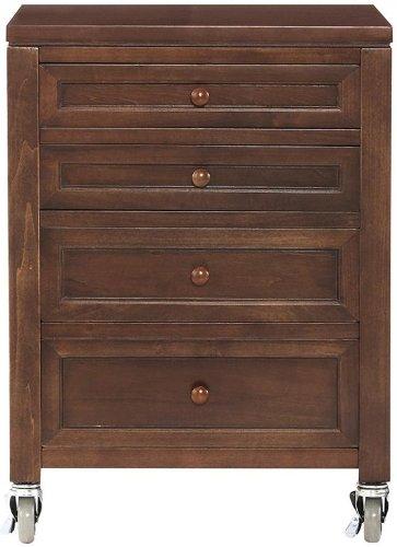 amazon com martha stewart living153 craft space 4 drawer under