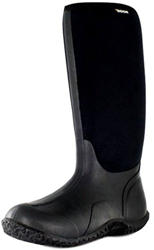 Bogs Women's Classic High Waterproof Insulated Boot, Black,7