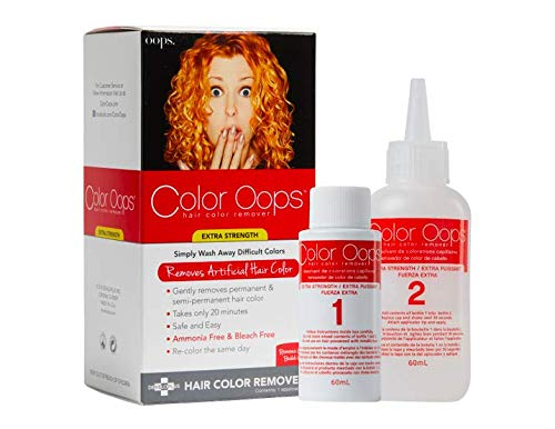 Color Oops Developlus Color Oops Color Remover (extra Strength) Review