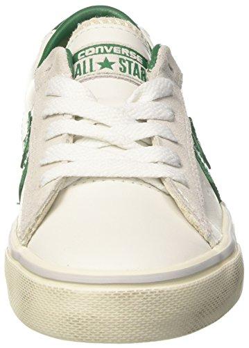 Converse Unisex-Erwachsene Pro Leather Vulc Ox Sneakers Weiß (White/pool Table/turtledove)