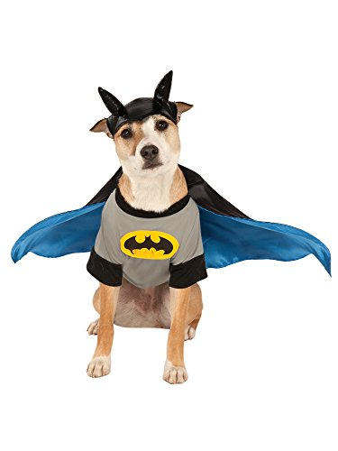 DC Comics Pet Costume, Medium, Batman -