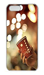 iPhone 5S Case,Bokeh Cup PC Hard Plastic Case for iPhone 5/5S Transparent