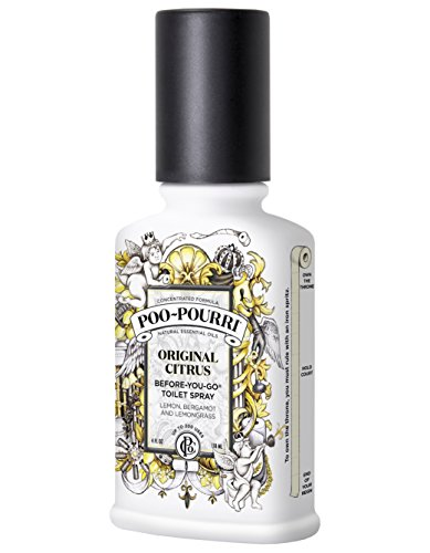 Poo-Pourri Before-You-Go Toilet Spray 4-Ounce Bottle, Original - Online Original