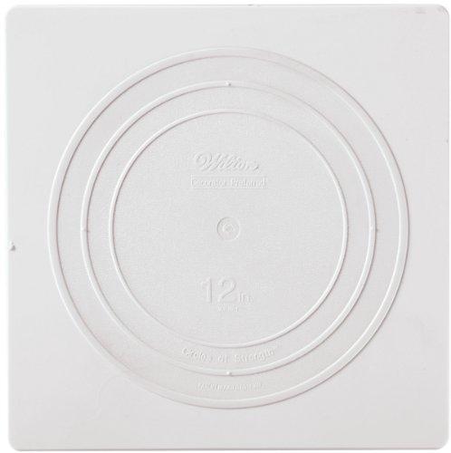 [Wilton 302-1804 Decorator Preferred Square Separator Plate for Cakes, 12-Inch] (Decorator Preferred Square Pan)