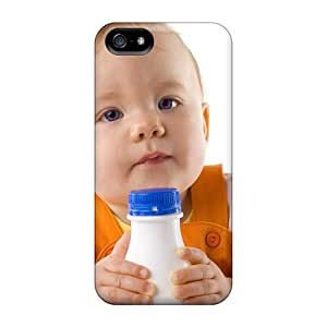 For Iphone 5/5s Fashion Design Hungry Baby Cases-qle4454TYnH