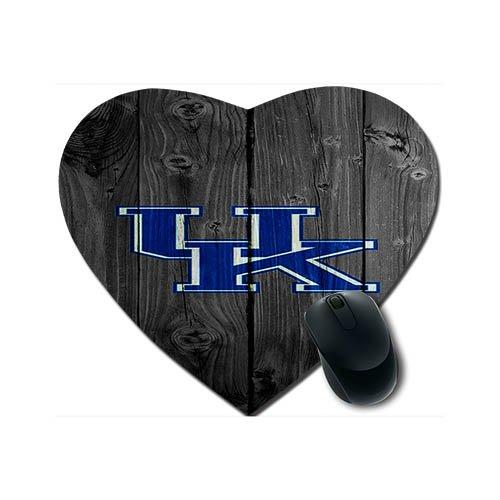 Kentucky Wildcats Heart - Kentucky Wildcats Heart-shaped Mousepad Cloth Top Rubber Base 240*210*2 MM