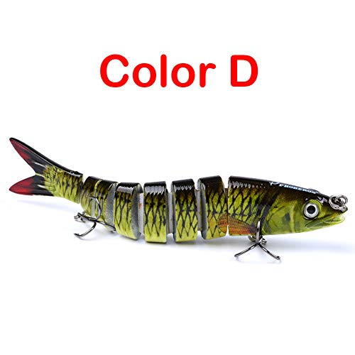 Dragon Honor 2019 Dancing Minnow Fishing Lure (Color D)