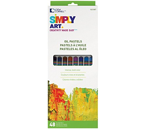 - Loew-Cornell 1021087 Simply Art Oil Pastels