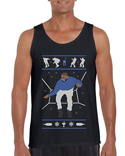 Hotline Bling Drake Popular Falcon's Tank Tops for Men Shirts (Black, XX-Large) ()