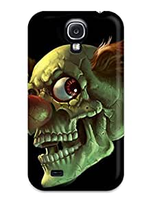 New Snap-on JudyRM Skin Case Cover Compatible With Galaxy S4- A Skull Clown