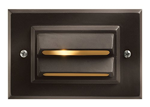 Hinkley Lighting Landscape Deck Light - Hardscape Deck Light to Illuminate Exteriors and Increase Home Security, Bronze Finish, 1546BZ