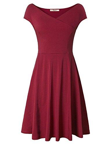 Bebonnie Womens Sleeve Cross V Neck product image