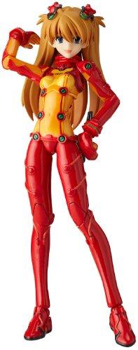 Neon Genesis Evangelion Revoltech #018 Fraulein Super Poseable Action Figure Shikinami Asuka Langley by Kaiyodo