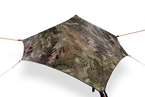 (Tentsile Stealth 3-Person Modular Suspended Camping Tree Tent, Camo Rainfly)