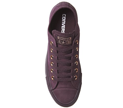 Converse Unisex-Adult Chuck Taylor All Star Core Ox Trainers Dark Sangria Rose Gold Exclusive WAaeiw