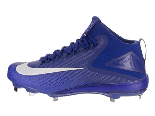 Zoom Mens Baseball 3 Nike up Racer Shoes Low Blue Lace Top Trout pa55q