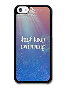 diy phone caseAMAF ? Accessories Finding Nemo Just Keep Swimming Dory Disney Animation Movie Quote case for iphone 4/4sdiy phone case