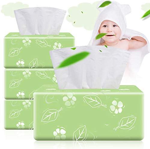Lfhing Lot de 3 Paquets de 300 mouchoirs Doux 3 Plis par Paquet 900 mouchoirs au Total pour la Maison