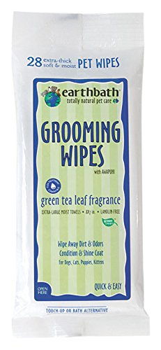 Earthbath Puppy Pet Grooming Wipes 28 ct by Earthbath