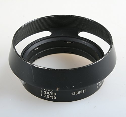 - LEICA 12585H METAL HOOD FOR SUMMICRON M 50MM F 2.0 VER.III LENS GERMANY