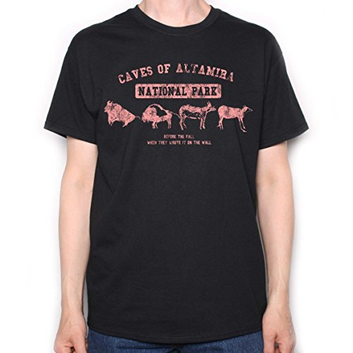 Old Skool Hooligans Caves Of Altamira T shirt (M)